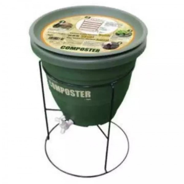 BABA CP-30L Composter + WT-18 Stand (Set)